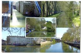 CPM 18 BOURGES Canal De Berry  2017 (tirage Limité) N 1 - Bourges