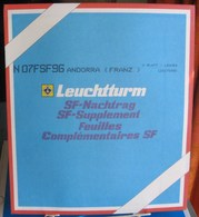 Leuchtturm - JEU ANDORRE FRANCAIS 1996 SF (Avec Pochettes) - Albums & Reliures