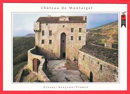 CPM- 12-GISSAC - Château De MONTAIGUT * SUP  ** 2 SCANS - Altri Comuni