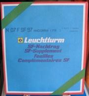 Leuchtturm - JEU ANDORRE FRANCAIS 1997 SF (Avec Pochettes) - Albums & Reliures