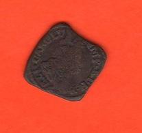 Milano Dominio Spagnolo Moneta Da Una Trillina 1736 Di Carlo III° Di Spagna Mediolani Dux - Sonstige