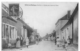 SILLE LE PHILIPPE 72. BONNE ANIMATION. - France