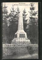AK Battincourt, Monument Inaugure Le 23 Octobre 1921 - Non Classés
