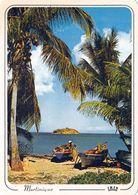 1 AK Martinique * Fisherman Beach In Tartane * Mit Der Vorgelagerten Inse Tartane - IRIS Karte 5290 - Martinique