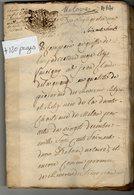 VP14.160 - Haute - Savoie - Acte De 1768 Concernant La Chartreuse De Mélan à TANINGES - Manuscripts