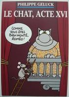 GELUCK. - Le Chat, Acte XVI. - Carte Postale Publicitaire. - Cartes Postales