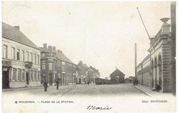 MOUSCRON - Place De La Station - Tram - Imp. Stockmann - Moeskroen