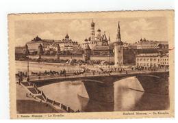 2. Russie   Moscou  -  Le Kremlin  Met Reclame Chocolat MARTOUGIN - Rusland