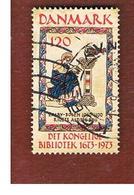 DANIMARCA (DENMARK)  -   SG 561   -  1973  300^ ANNIVERSARY OF ROYAL LIBRARY    - USED ° - Dänemark