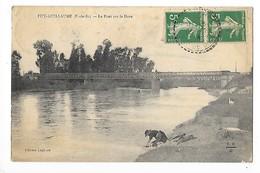 PUY-GUILLAUME   (cpa 63)  Le Pont Sur La Dore  -  L 1 - Autres Communes