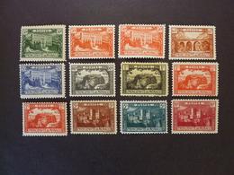 MONACO, Année 1922-23, YT N° 55 à 64 Avec 56a Et 61a, Neufs * (cote 86 Euros) - Neufs
