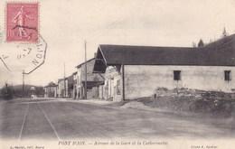 Ain - Pont-d'Ain - Avenue De La Gare Et La Catherinette - France