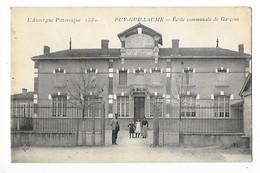 PUY-GUILLAUME   (cpa 63)  Ecole Communale De Garçons  -  L 1 - Autres Communes