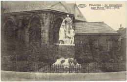 MOUSCRON - Le Monument Aux Héros 1914-1918 - Edit. A Pollyn 30 Rue De Tourcoing - Mouscron - Moeskroen