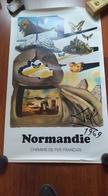 Affiche. Normandie. Dali. Chemins De Fer Français. SNCF.1969. Rare - Affiches