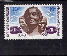 697974979 NEW CALEDONIA POSTFRIS MINT NEVER HINGED POSTFRISCH EINWANDFREI  SCOTT 792 ABOLITION OF SLAVERY 150TH ANNIV - Neufs
