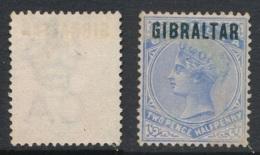 GIBRALTAR, 1886 2½d Unused No Gum, Cat £200 - Gibraltar