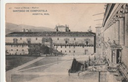 *** GALICIA ***  Santiago De Compostela  HOSPITAL REAL - Dos Simple - Unjused / Neuve  -- TTB - Santiago De Compostela