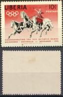 Liberia 1956 (MH) - Quadriga (Old Roman War Transport With 4 Horses) - Horses