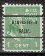 USA Precancel Vorausentwertung Preo, Bureau California, Bakersfield 804-71 - Etats-Unis