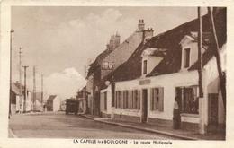 1 Cpa La Capelle Les Boulogne - La Route Nationale - Zonder Classificatie