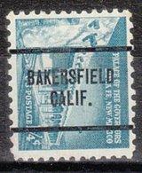 USA Precancel Vorausentwertung Preo, Locals California, Bakersfield 259 - Etats-Unis
