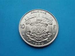 BELGIQUE  10  Francs  1969  --SUP-- - 1951-1993: Baudouin I