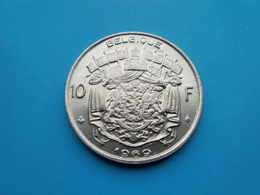 BELGIQUE  10  Francs  1969  --SUP-- - 1951-1993: Boudewijn I