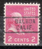 USA Precancel Vorausentwertung Preo, Locals California, Balboa 729 - Etats-Unis