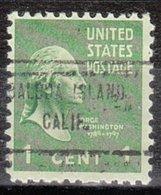 USA Precancel Vorausentwertung Preo, Locals California, Balboa Island 713 - Etats-Unis
