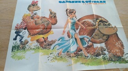 Affiche. Poster. Spirou. Garonne Et Guitare. Hardy 77  Ligier JS 2 Jidéhem 77 - Affiches