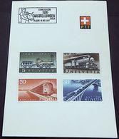 Schweiz Suisse 1947: Zu 277-280 Mi 484-487 Yv 441-444 PTT-FB O TIER-AUSSTELLUNG ZÜRICH Ohne AUTOMOBIL-POSTBUREAU - Agriculture
