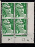 Coin Daté - Gandon YV 884 N** Coin Daté Du 13.4.51 - Coins Datés