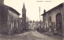 1915 Ansichtskarte Aus Verneville Nach Bern Und Umgeleitet Nach Basel; Dort Mit Schweizer Portomarken Versehen - Francia