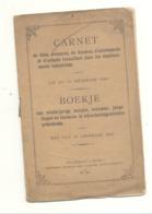 GRIVEGNEE - Livret De Travail  / Werkboekje De 1891 - Filles Mineures, Femmes, Adolescents Et Enfants  (b242) - Non Classés