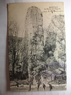 Carte Postale Mortain (50) Le Rocher De L'Aiguille ( Petit Format Noir Et Blanc Non Circulée ) - Autres Communes