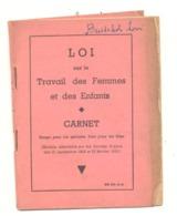 LIEGE - 1943 - Loi Sur Le Travail Des Femmes Et Enfants ( Avec Photo) (b242) - Non Classés