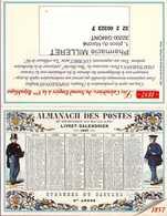 Calendrier °° 2000 - Pharma 32 - Milleret - étrennes Du Facteur - 7x10 - Calendari