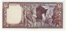 LEBANON P. 61c 1 L 1980 UNC - Liban