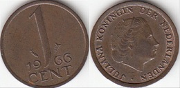 Olanda 1 Cent 1966 KM#180 - Used - 1948-1980 : Juliana