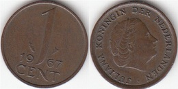 Olanda 1 Cent 1967 KM#180 - Used - 1948-1980 : Juliana