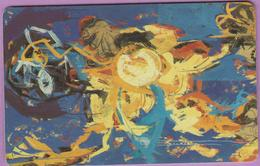 Télécarte Luxembourg °° SC04 - Peintre Isabelle Welter -Sc7- 50u - 1994 -RV. - Luxembourg
