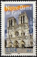 France 2004 - Cathedral Notre-Dame-de-Paris ( Mi 3853 - YT 3705 ) - Oblitérés