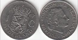 Olanda 1 Gulden 1967 Piek KM#184a - Used - [ 3] 1815-… : Regno Dei Paesi Bassi
