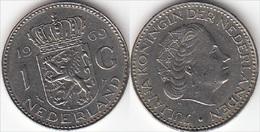 Olanda 1 Gulden 1969 Piek KM#184a - Used - [ 3] 1815-… : Regno Dei Paesi Bassi