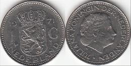 Olanda 1 Gulden 1971 Piek KM#184a - Used - [ 3] 1815-… : Regno Dei Paesi Bassi