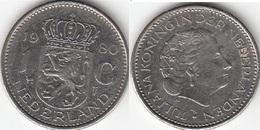 Olanda 1 Gulden 1980 Piek KM#184a - Used - 1948-1980 : Juliana