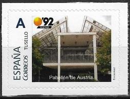 ESPAÑA. TUSELLO. EXPO'92 SEVILLA. PABELLON DE AUSTRIA - 1931-Hoy: 2ª República - ... Juan Carlos I