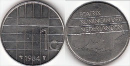 Olanda 1 Gulden 1984 Piek KM#205 - Used - 1980-… : Beatrix