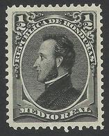 Honduras, 1/2 R. 1878, Sc # 32, MH. - Honduras